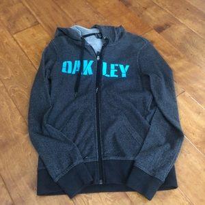 Oakley zip up